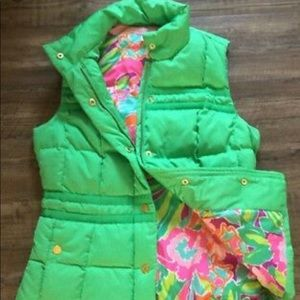 Lilly Pulitzer Puffer Vest